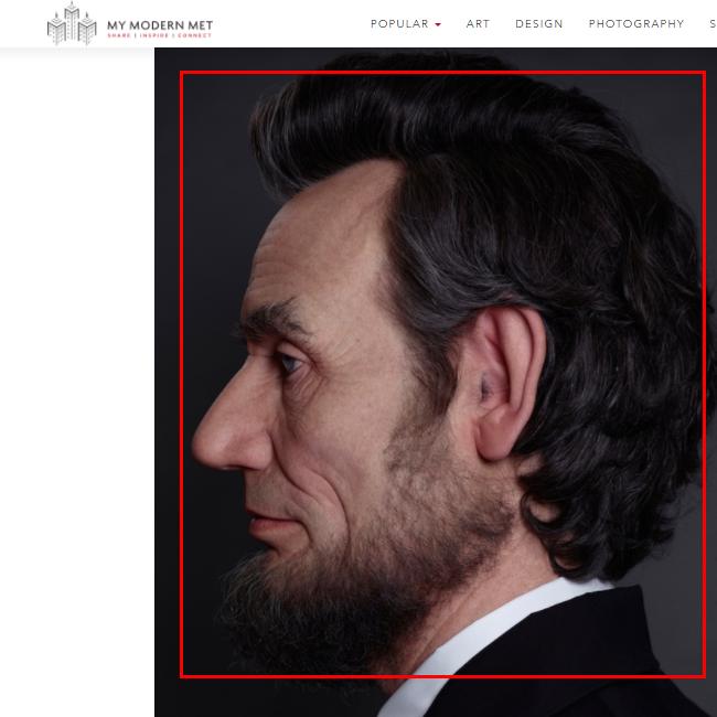 似ているリンカーン画像