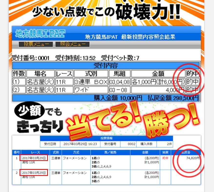 存在しないはずの大川慶次郎の地方競馬予想の実績