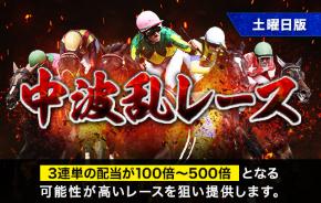中波乱レース
